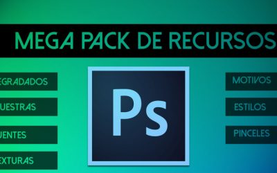 Mega Pack de recursos para Adobe Photoshop Gratuito