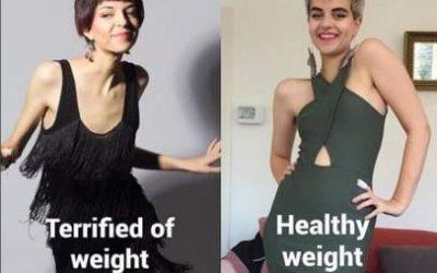 Connie Inglis, la joven que ha sobrevivido a la anorexia y ahora es un referente en Instagram