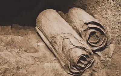 Desvelan una parte de los Rollos del Mar Muerto que completa la historia de Noé