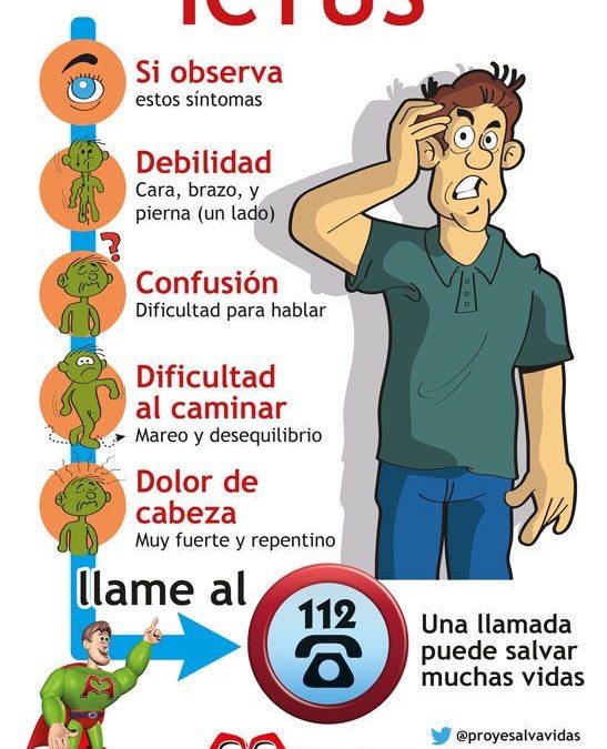 ¿Qué es un ictus? Conoce los síntomas y cómo actuar ante ellos