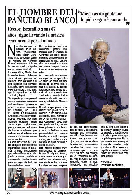 Entrevista al Señor del pañuelo blanco Héctor Jaramillo