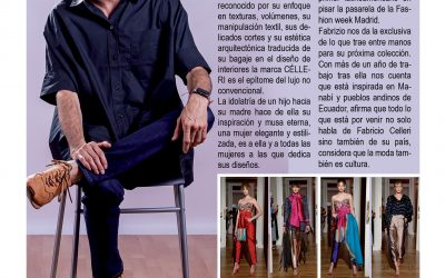 Entrevista al diseñador Ecuatoriano Fabrizio Célleri