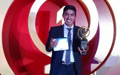 Peruano Julio Garay ganó concurso de History Channel por galleta contra la anemia