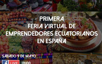 Primera Feria Virtual de Emprendedores Ecuatorianos en España