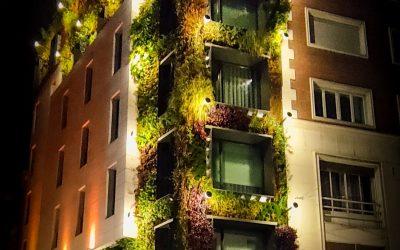 Jardines verticales en Madrid: asombrosas obras maestras del paisajismo urbano mundial