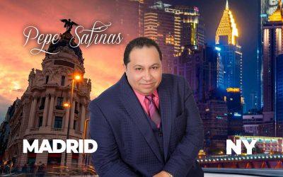 El cantautor José Salinas Fuentes, más conocido como Pepe Salinas desde Nuevayork para el mundo.