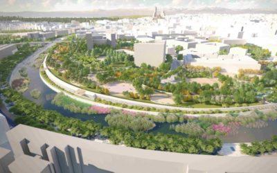 Madrid Río tendrá una nueva zona verde de 24.800 metros cuadrados