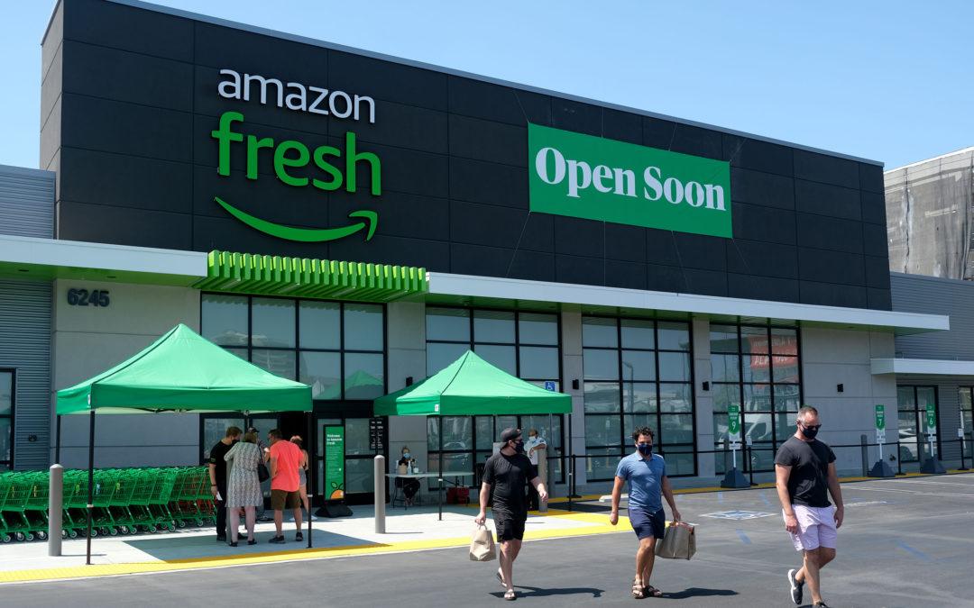 Llega a Madrid Amazon Fresh, y Mercadona y El Corte Inglés ya están temblando