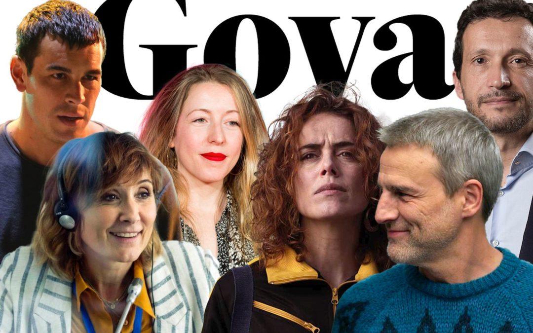 Los premiados en la gala de los Goya 2021