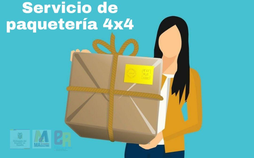 Servicio de paquetería 4×4 a Ecuador