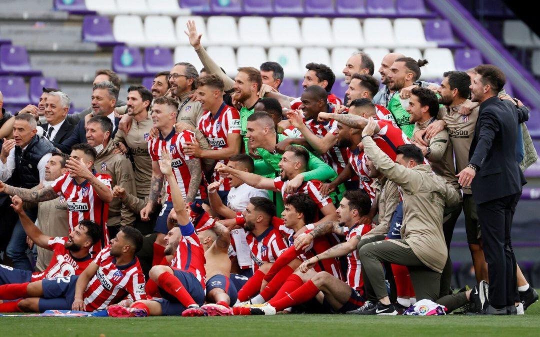 El Atlético Madrid campeón en la Liga de España