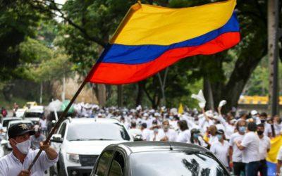 Caos en Colombia, la gente ya no tiene nada que perder, aparte de su vida