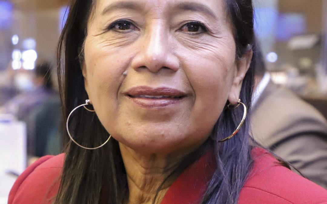 Guadalupe Llori nueva presidenta del Parlamento en Ecuador