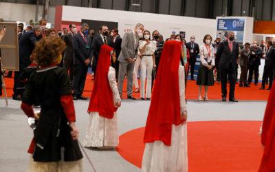 Inauguración de Fitur 2021: Los Reyes han presidido la inauguración
