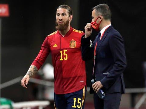 Sergio Ramos queda fuera de la lista definitiva para la Eurocopa