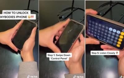 En TikTok comparten un truco para desbloquear un iPhone sin contraseña