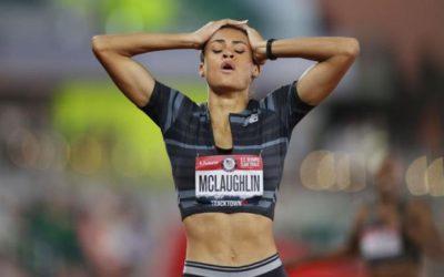 Sydney McLaughlin, récord del mundo de 400 vallas