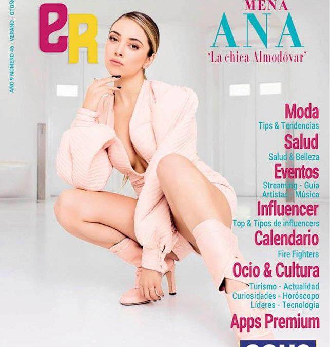 Ana Mena portada de la revista Eventos En Red